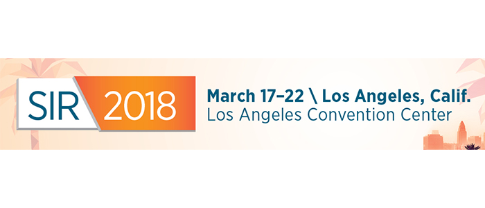 SIR 2018 March 17 - 22 / Los Angeles, California - Los Angeles Convention Center