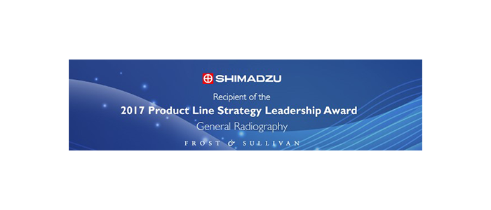 Shimadzu Medical System Wins 2017 Frost & Sullivan Award for Product Line